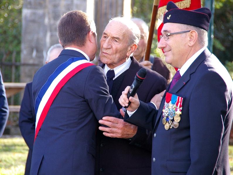Aimé Muffato, Olivier Durand et Roland Thuriès
